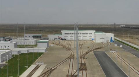 TURKMENISTAN TRAIN CARE STATION